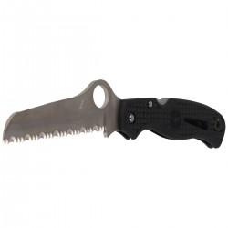Nóż Spyderco Atlantic Salt Black FRN Spyder (C89SBK)