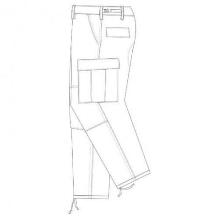 Spodnie  Tru-Spec   BDU TROUSERS - 1523.006BK 2LX  REG